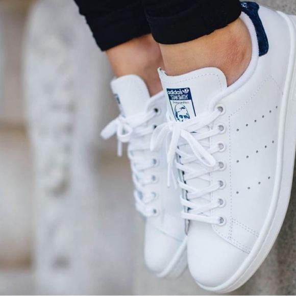 Zapatillas adidas Stan Smith blanco negro zapatilla tamaño 7 nuevos poshmark